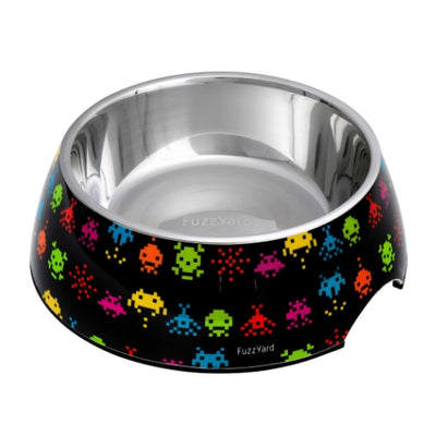 FuzzYard Space Raiders Easy Feeder Pet Bowl for Dogs | Barks & Bunnies