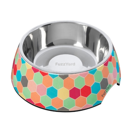 FuzzYard Hive Easy Feeder Pet Bowl for Dogs | Barks & Bunnies