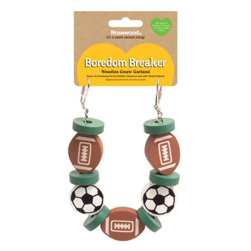 Rosewood Boredom Breaker Hanging Sports Garland | Barks & Bunnies