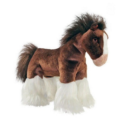 Fluff & Tuff Clyde Horse, Durable Plush Dog Toys | Barks & Bunnies