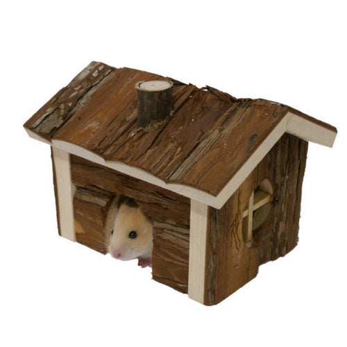 Rosewood Boredom Breaker Forest Cabin for Hamsters & Mice | Barks & Bunnies