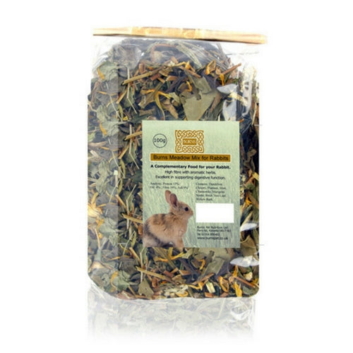 Burns Meadow Mix, Dried Herbs for Rabbits | Barks & Bunnies