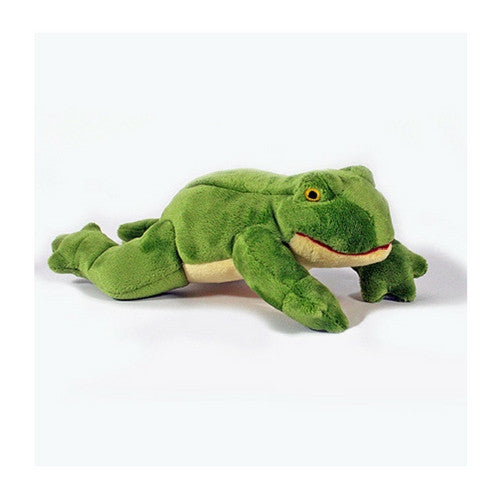 Fluff & Tuff Olive Frog, Durable Plush Dog Toys | Barks & Bunnies