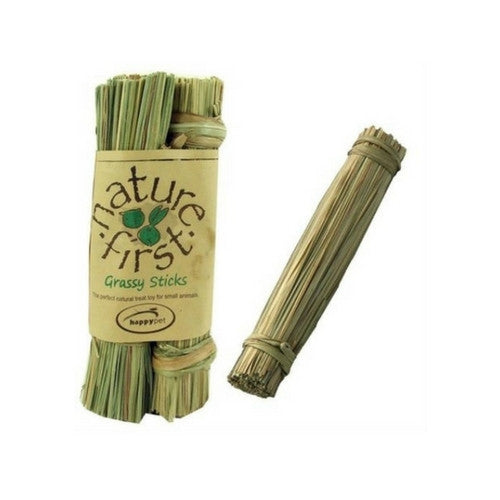 Happy Pet Grassy Sticks Chew Toys for Rabbits | Barks & Bunnies