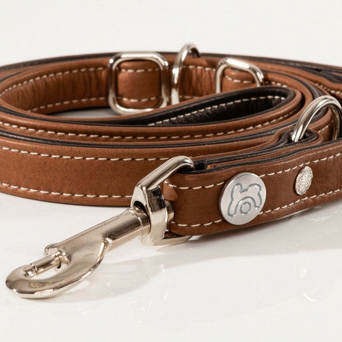 Maelson Soft Leash Luxury Leather Dog Lead | Barks & Bunnies
