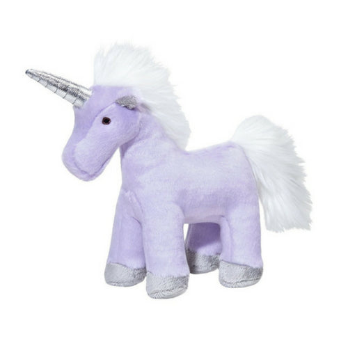 Fluff & Tuff Violet Unicorn, Durable Plush Dog Toys | Barks & Bunnies