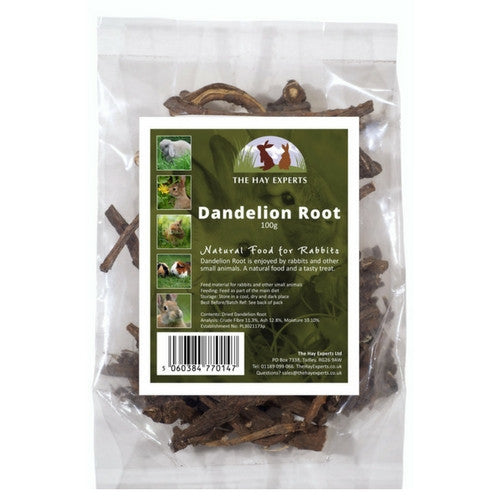 The Hay Experts Dandelion Roots for Rabbits | Barks & Bunnies