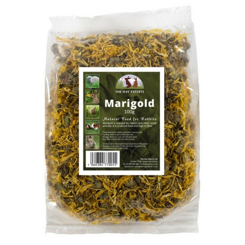 The Hay Experts Marigold, Dried Herbs for Rabbits | Barks & Bunnies