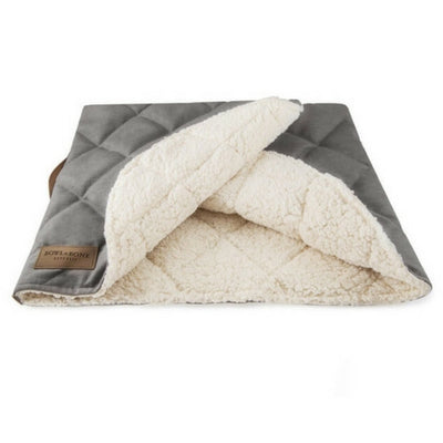 Bowl & Bone Republic Dreamy Bed Silver, Dog Bed | Barks & Bunnies