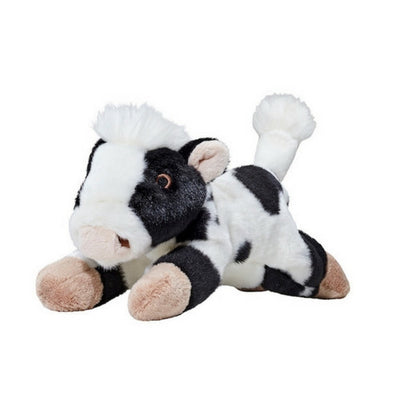 Fluff & Tuff Marge Cow, Durable Plush Dog Toys | Barks & Bunnies