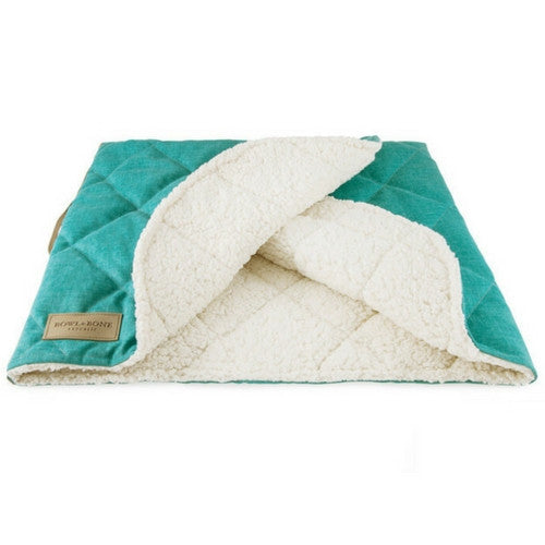 Bowl & Bone Republic Dreamy Bed Mint, Cave Dog Bed | Barks & Bunnies