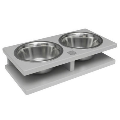 Bowl & Bone Republic GRANDE Grey, Handmade Dog Bowl | Barks & Bunnies