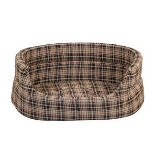 Danish Design Classic Check Slumber Bed for Dogs | Barks & Bunnies
