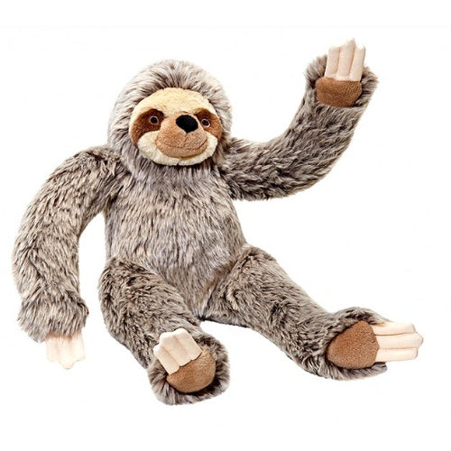 Fluff & Tuff Albert Tico Sloth, Durable Plush Dog Toys | Barks & Bunn