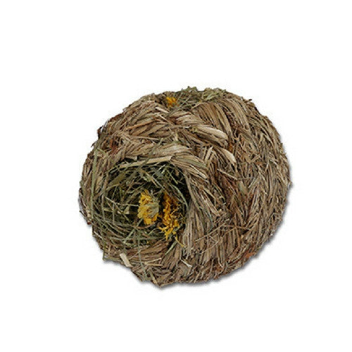 Rosewood Naturals Dandelion Roll 'n' Nest for Rabbits | Barks & Bun...