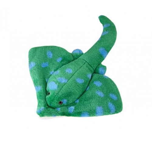 Fluff & Tuff Gordon Stingray, Durable Plush Dog Toys | Barks & Bunnies