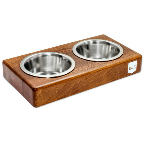 Bowl & Bone Republic DUO Amber, Handmade Dog Bowl | Barks & Bunnies