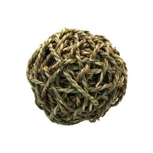 Happy Pet Pet Products Grassy Ball, Toys for Rabbits | Barks & Bunnies