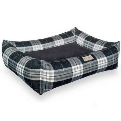 Bowl & Bone Republic Scott Bed Grey, Dog Bed | Barks & Bunnies