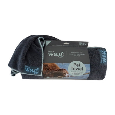 Henry Wag Microfibre Towel, Dog Drying Cloth | Barks & Bunnies