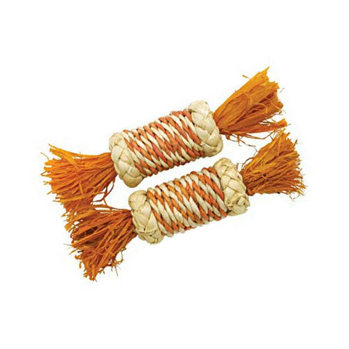 Rosewood Corn Rattle Roller Toy for Rabbits | Barks & Bunnies