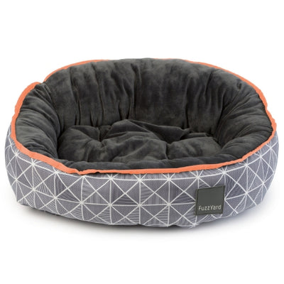 FuzzYard Mid Town Reversible Dog Bed | Luxury dog Bed | Barks & Bunnies