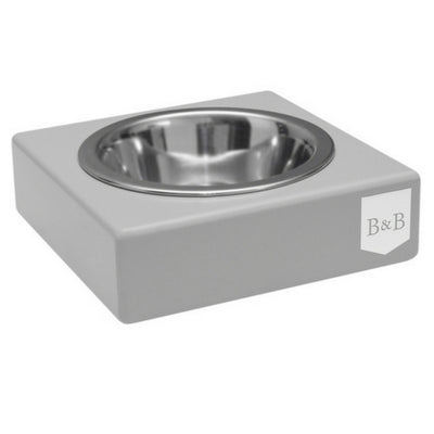 Bowl & Bone Republic SOLO Grey, Dog Bowl | Barks & Bunnies