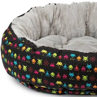 FuzzYard Space Raiders Reversible Dog Bed | Luxury dog Bed | Barks & Bunnies