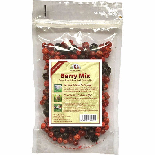 The Hay Experts Freeze Dried Berry Mix for Rabbits | Barks & Bunnies