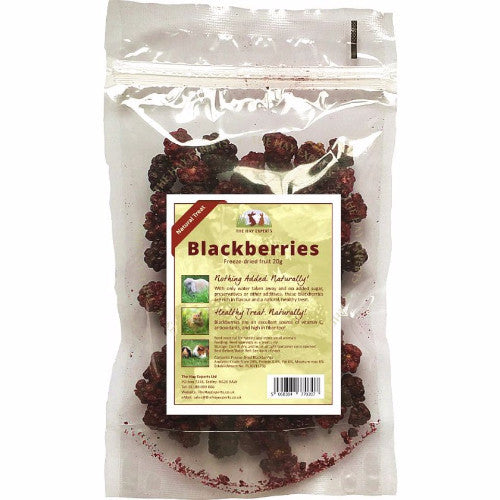 The Hay Experts Freeze Dried Blackberries for Rabbits | Barks & Bunnies