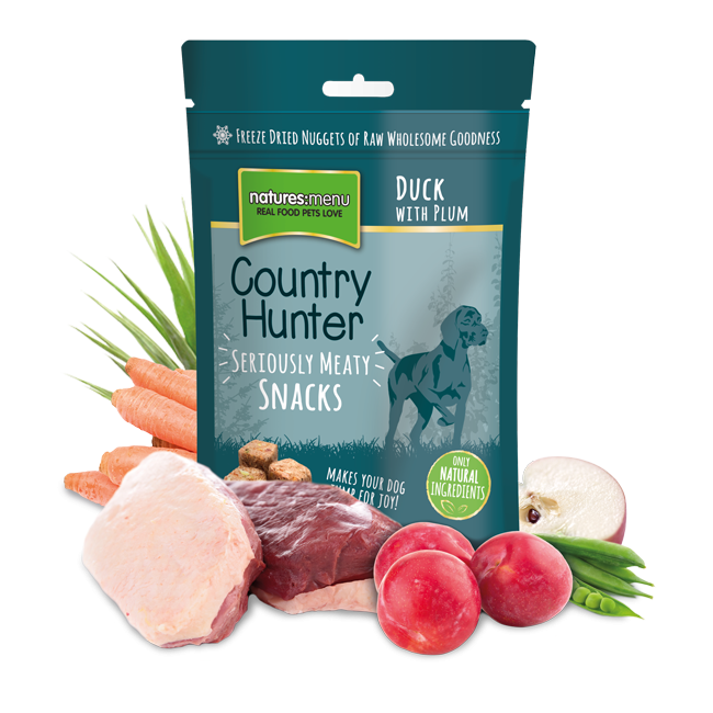 Natures Menu Country Hunter Duck & Plum Dog Treats | Barks & Bunnies
