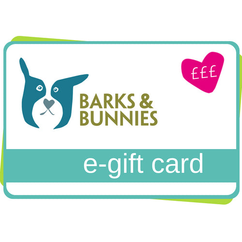 Barks & Bunnies E-Gift Card