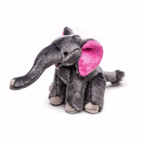 Fluff & Tuff Edsel Elephant, Durable Plush Dog Toys | Barks & Bunnies
