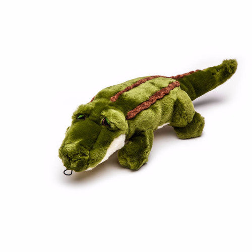Fluff & Tuff Georgia Gator, Durable Plush Dog Toys | Barks & Bunnies