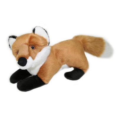 Fluff & Tuff Hendrix Fox, Durable Plush Dog Toys | Barks & Bunnies