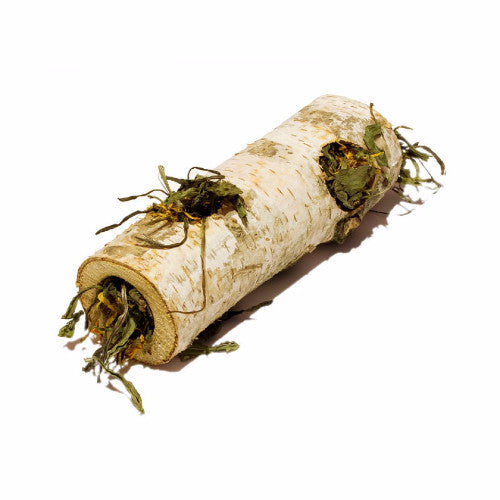 The Hay Experts Herby Birch Tunnel, Rabbit Chew Toy | Barks & Bunnies