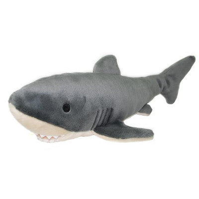 Fluff & Tuff Mac The Shark, Durable Plush Dog Toys | Barks & Bunnies