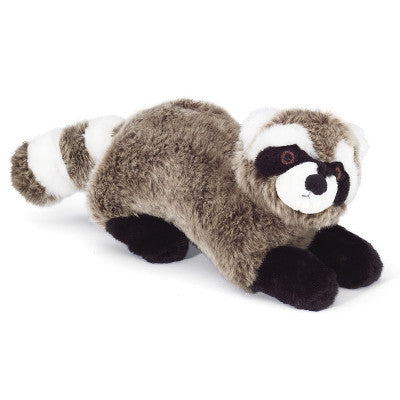 Fluff & Tuff Rocket Raccoon, Durable Plush Dog Toys | Barks & Bunnies