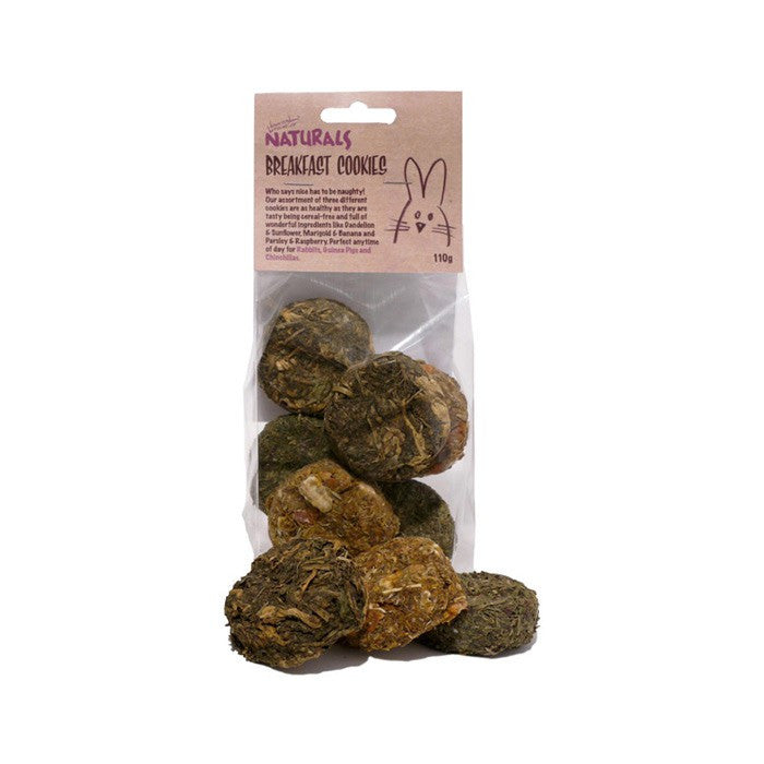 Rosewood Naturals Breakfast Cookies, Small Animals | Barks & Bunnies