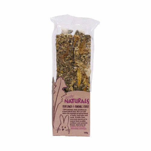 Rosewood Naturals Sunflower & Camomile Sticks | Barks & Bunnies