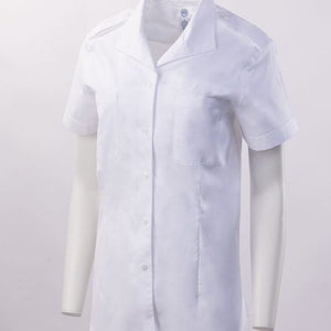 Lauren Open Pocket Short Sleeve Shirt w/Eyelet