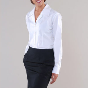 Anne Long Sleeve V-Neck Shirt