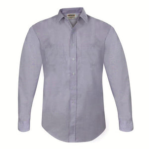 Male Shirt Elbeco Express Blue L/S 65/35