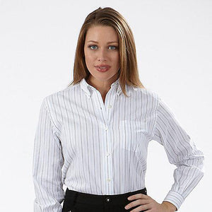 Female VH Pinpoint Stripe Shirt Long Sleeve