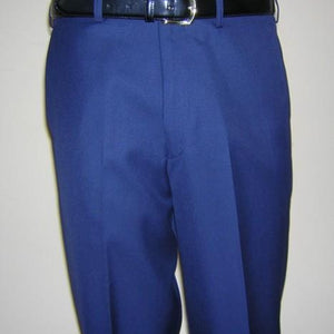 Male Pant Flat Front Regular Navy 17
