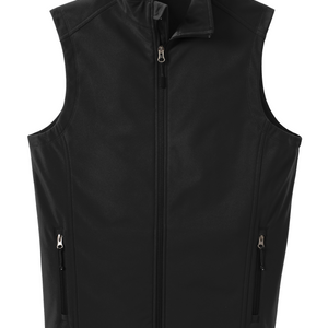 Soft Shell Vest Black
