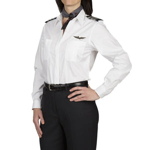 Stephanie Fitted Long Sleeve Shirt