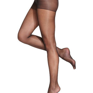 Sheer Closed Toe Compression Black Pantyhose