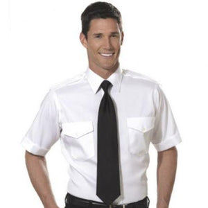 Van Heusen Aviator 100% Cotton Short Sleeve Shirt