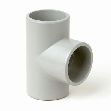 25mm PVC Plain Tee - 1 Box of 10 pcs